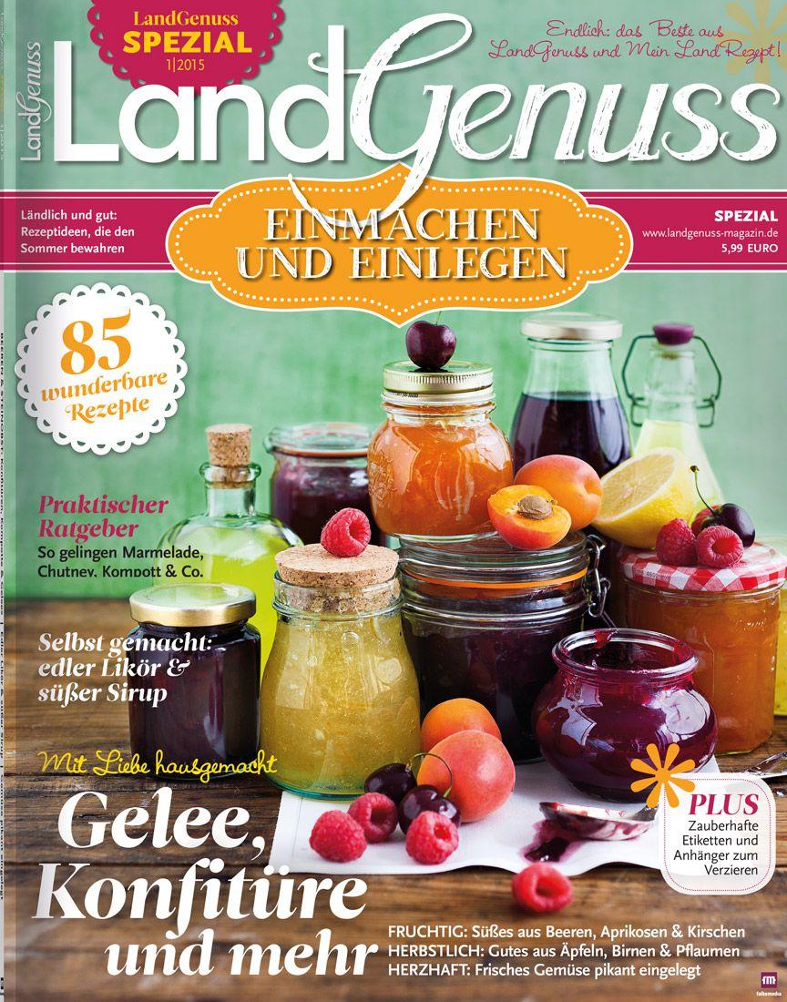 LandGenuss Spezial: Einmachen 01/2015