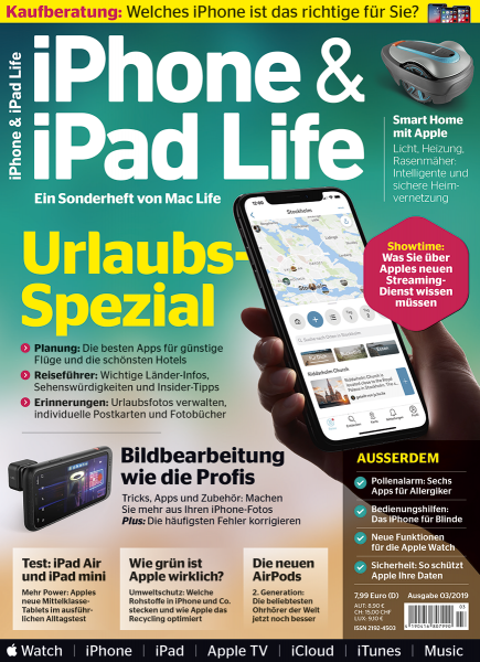 iPhone & iPad Life 03/2019
