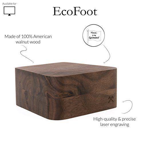 EcoFoot - Wooden iMac Stand  (21,5') und (27')