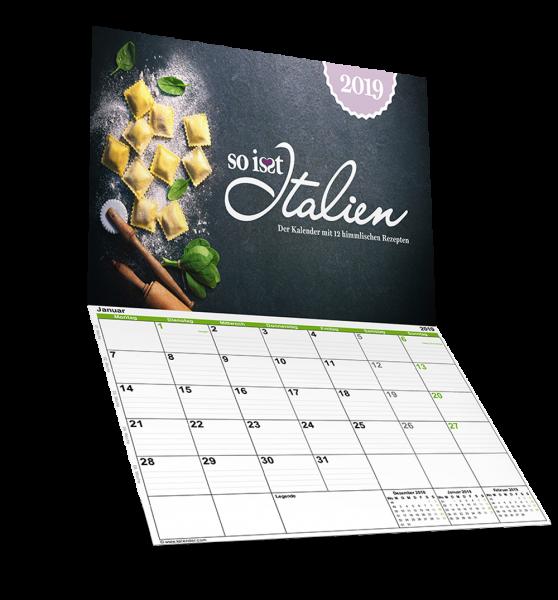 So is(s)t Italien - E-Book - Kalender 2019