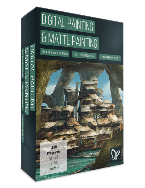 Digital Painting und Matte Painting-Video-Training