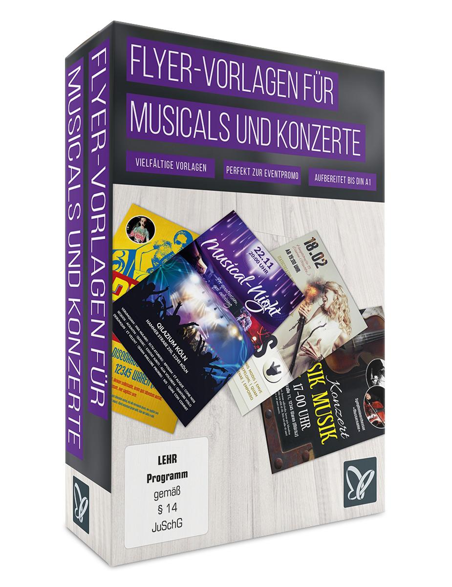 Flyer Vorlagen für Musicals Discos und Konzertejetzt bei