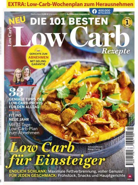 Die 101 Besten Rezepte - Low Carb  01/2020