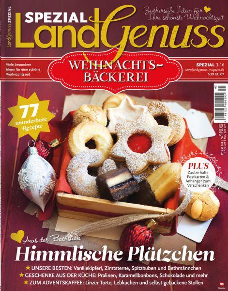 LandGenuss Weihnachtsbäckerei 03/2016