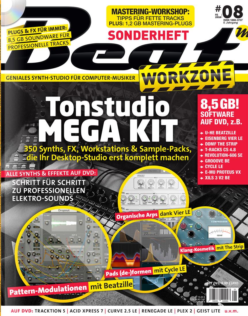 Beat Workzone 01/2016 Print-Magazin
