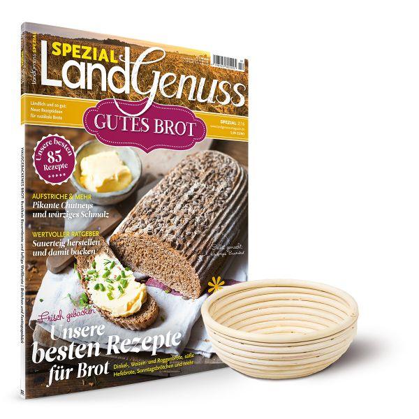 Gärkörbchen Rund & LandGenuss Spezial - Gutes Brot