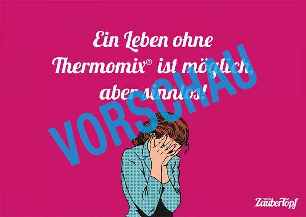 Motivkarte Thermomix® - Leben