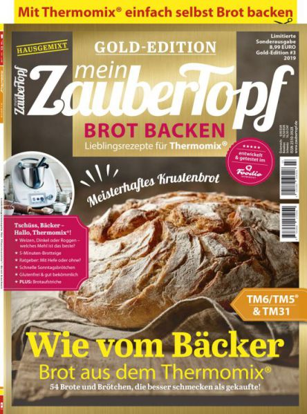"mein ZauberTopf Gold-Edition ""Brot Backen"" 03/2019"