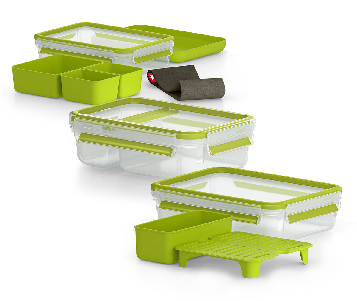 Clip & Go Lunchbox-Set