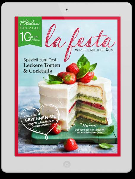 La Festa- Jubilärumsausgabe So isst italien