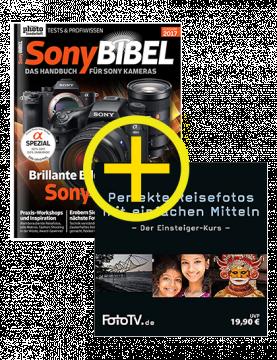 SonyBIBEL 2017 + Reisefoto-Tutorial DVD