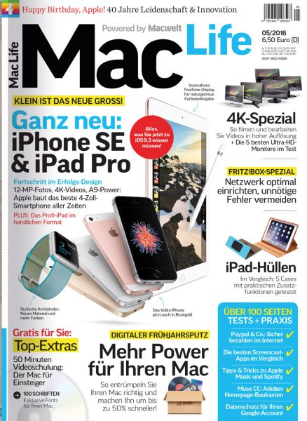 Mac Life 05/2016
