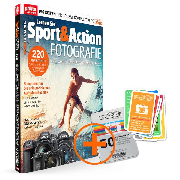 Sport & Action plus Inspiracles Kartenset