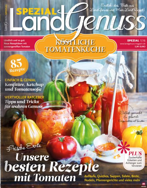 LandGenuss Spezial: Tomatenküche 01/2016