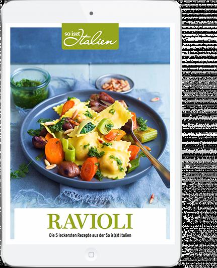 So is(s)t Italien - Ravioli E-Book