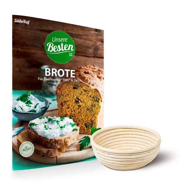 Gärkörbchen Rund & Unsere Besten - Brote