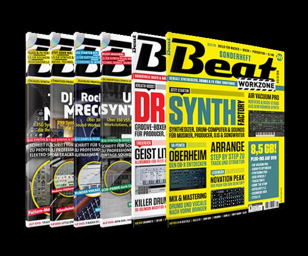 Beat workzone Ultimate: alle Ausgaben
