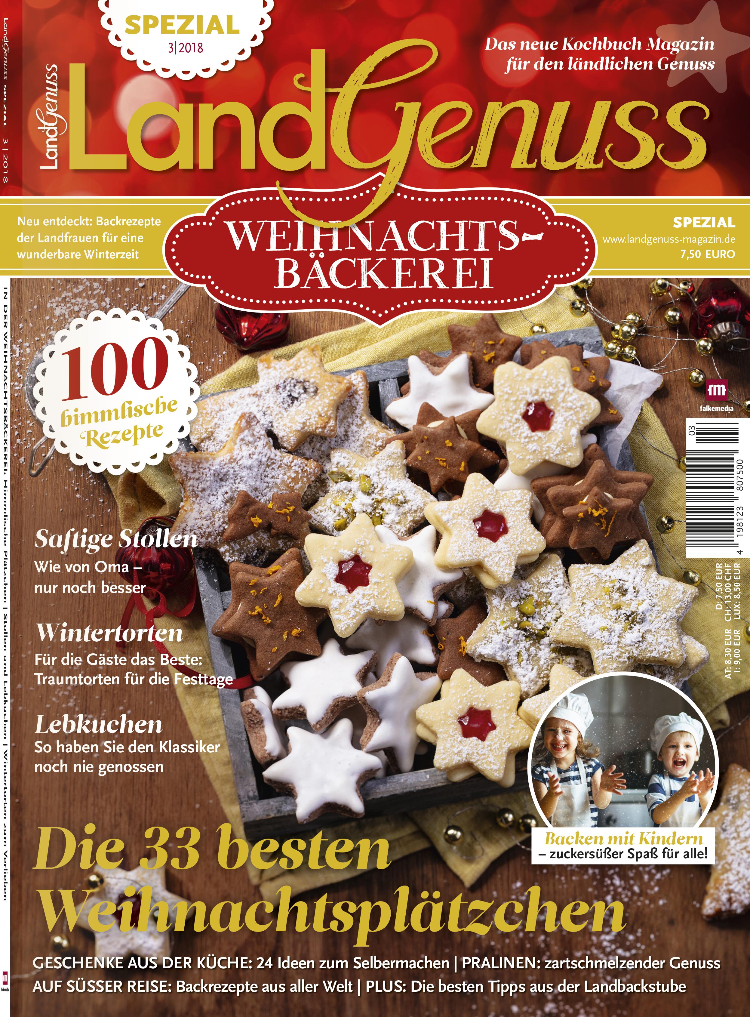 LandGenuss Spezial 03/2018 Weihnachten → Jetzt bei falkemedia ...