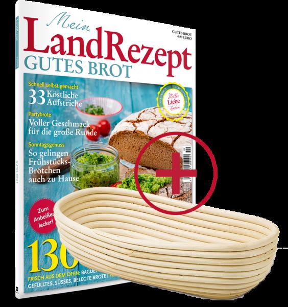 Landrezept Magazin plus Gärkörbchen