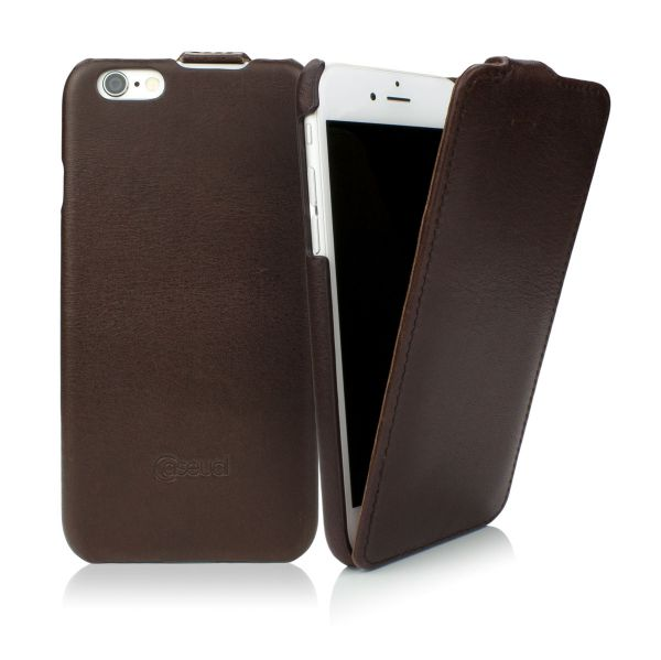 CASEual Leather Flip - Italian Mocca