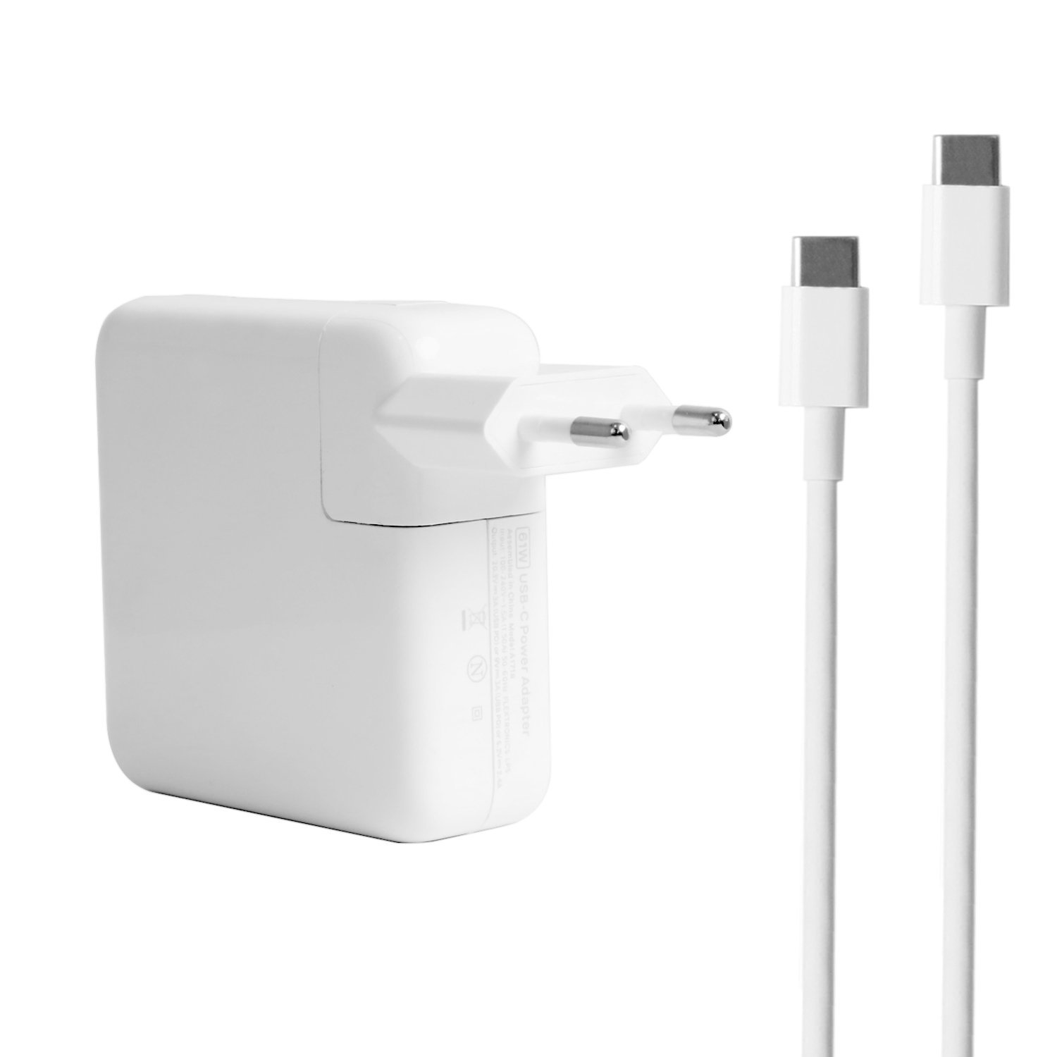 61W Adapter mit Ladekabel Apple MacBook Pro 13