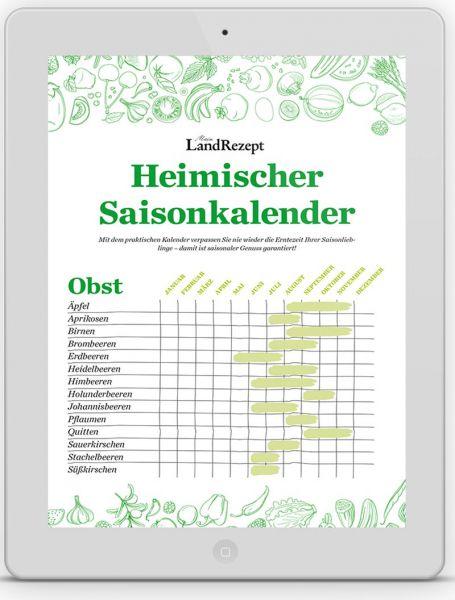 heimischer Saisonkalender