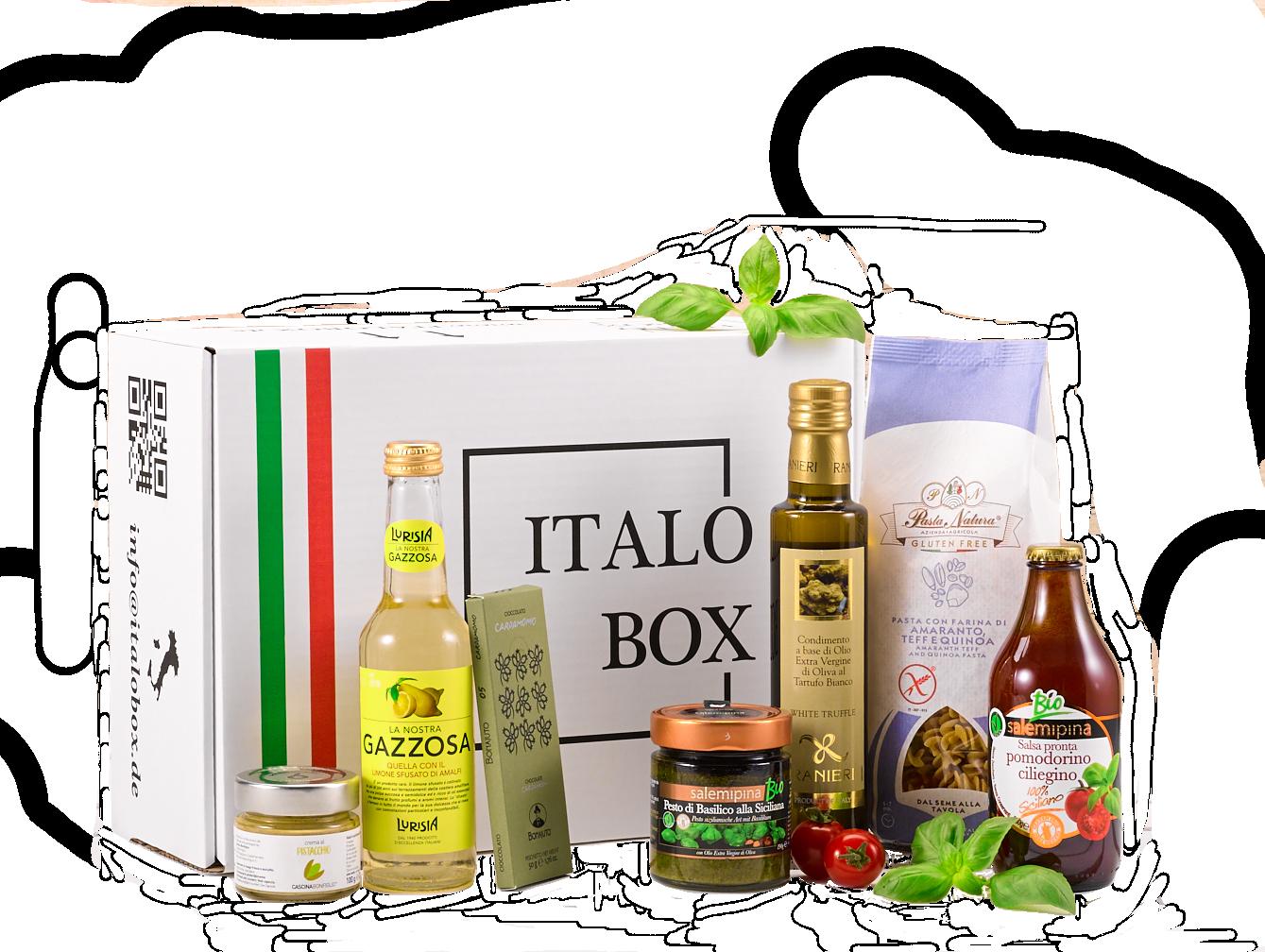 ITALOBOX - einmalige Genusslieferung