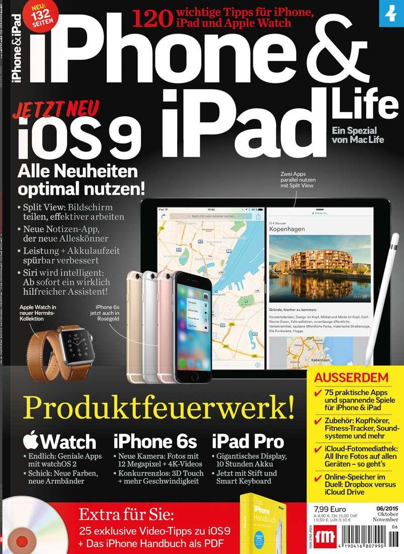 iPhone & iPad Life 06/2015→ Jetzt bei falkemedia kaufen   falkemedia