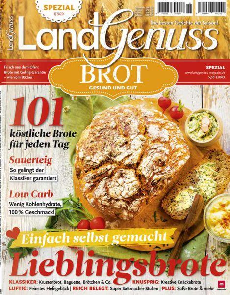 """LandGenuss Spezial 01/2020 -  Brot  """"Gesund und Gut"""""""