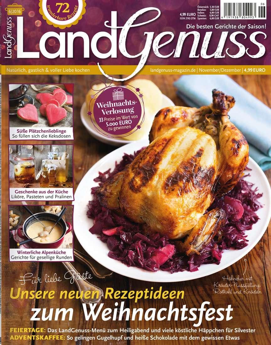 LandGenuss 06/2016 → Jetzt bei falkemedia kaufen   falkemedia