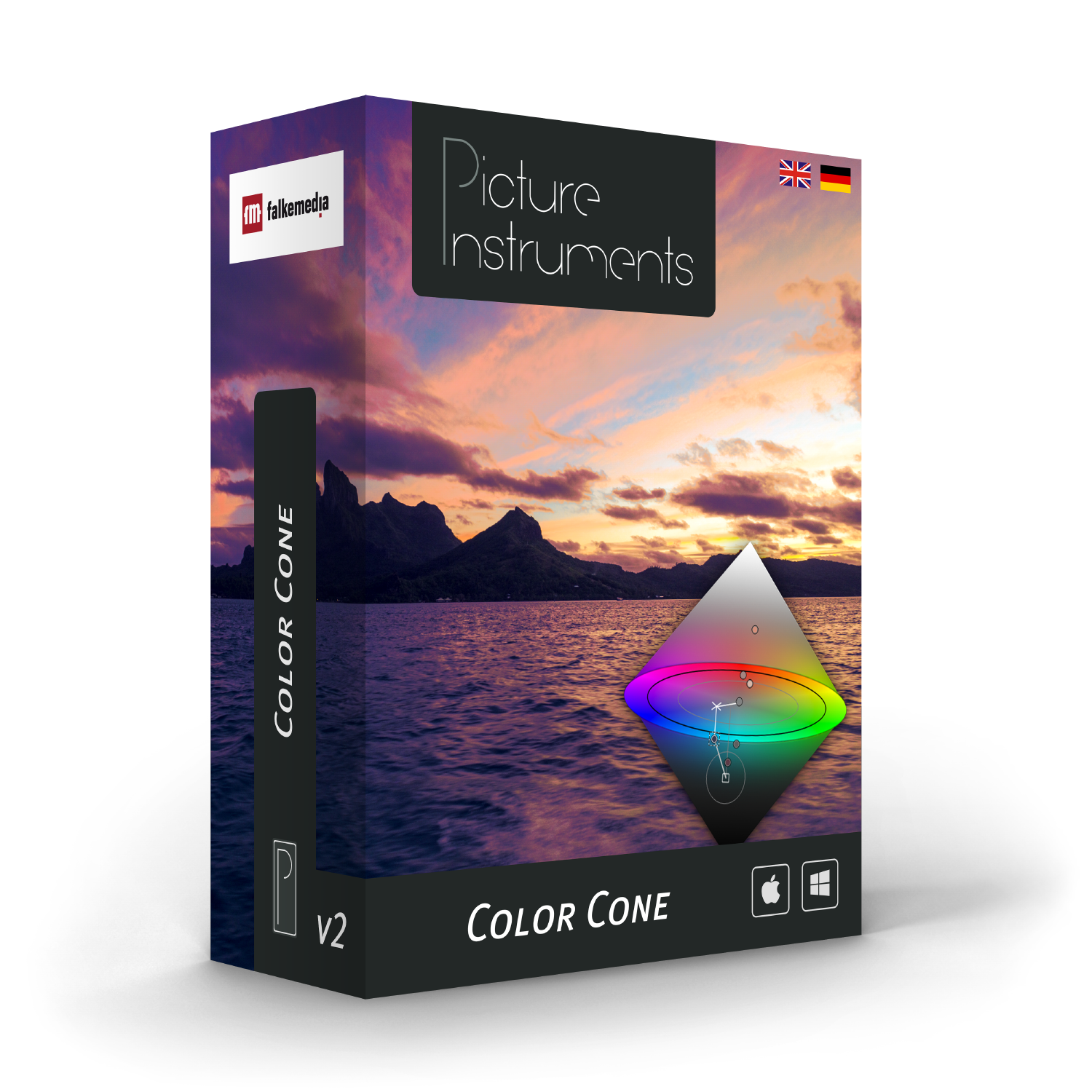 Color Cone Standalone + Premiere / After Effects Plugin