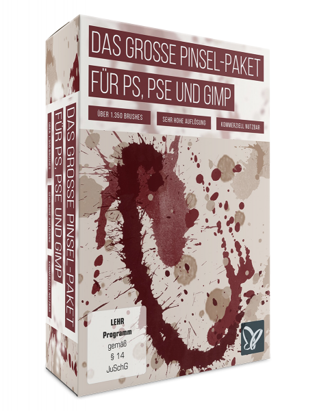 Das große Pinsel-Paket - für Photoshop,PS Elements & GIMP
